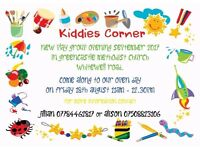 kiddies corner playgroup