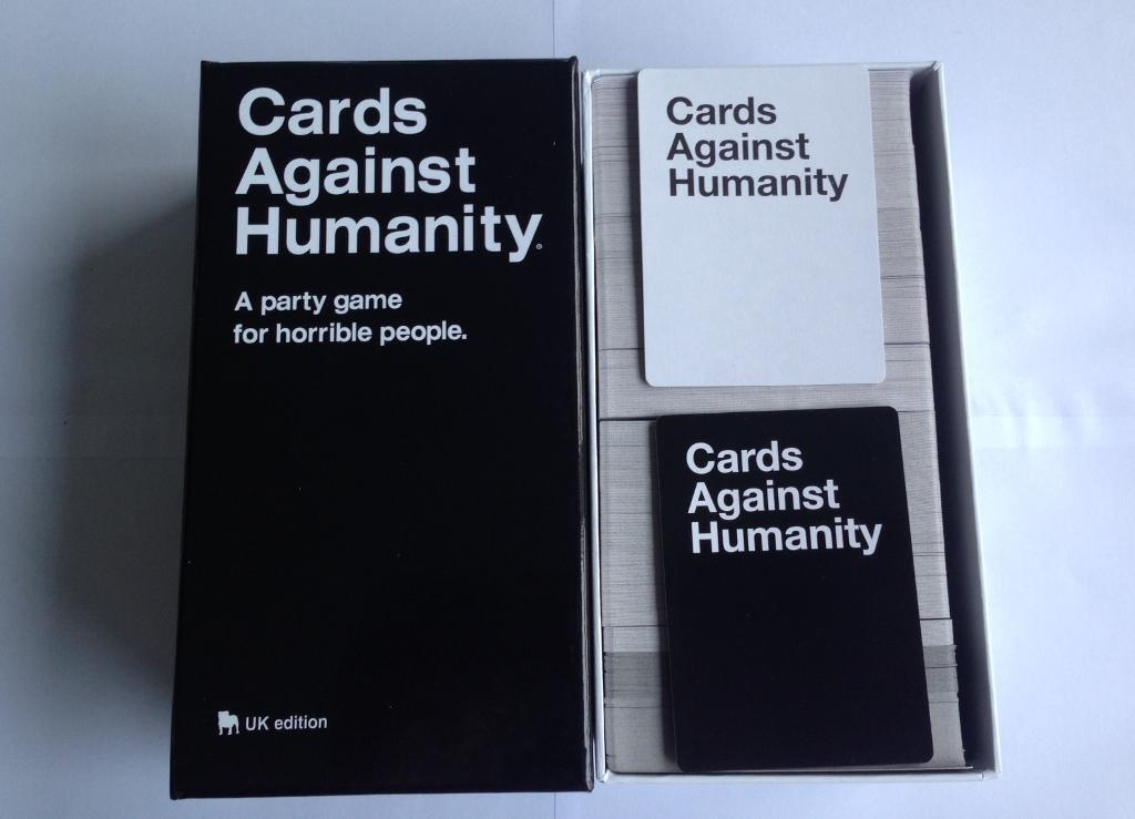 Cards Against Humanity A Party Game For Horrible Peoplein Whitechapel, LondonGumtree - uncontrollable laughter brand new cards 550 cards UK edition 17 collection is preferable for postage £5 extraPerfect gift for friends and family or grandma/ grandpa and have a perfect horrible enjoyable time with loved one. Contact with whatsapp...
