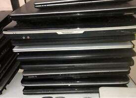 Laptops Large quantity Working/ spares or repairs from £10
