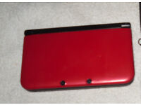 Nintendo 3ds XL With 7 Games & Carry Case