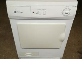 WHITE KNIGHT 7KG CONDENSER TUMBLE DRYER IN GOOD WORKING ORDER