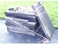 FREE! 12 CONCRETE FLAGS 2ft x 3ft FREE! READY TO PICK UP