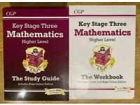 KS3 - Mathematics Higher Level - Study Guide & Workbook