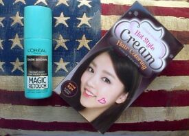 L'Oreal Magic Retouch Root Concealer & Etude House Hot Style Cream Hair Coloring