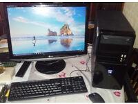 **Windows 10 PC -KODI TV Movies- MS Office 2013 - WiFi - GREAT CONDITION**