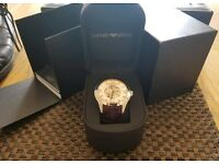 Armani Mens Automatic Watch