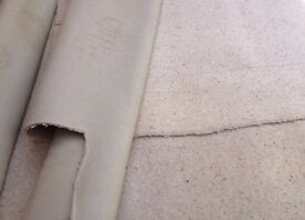 3 x Pieces Cream Carpet - Good Condition - 6 x 3m and 3.5 x 2m and 4.2 x 3.5m