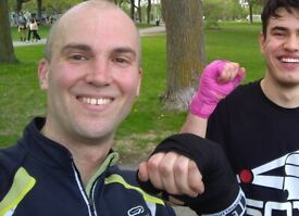 Boxing sparring partner