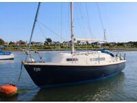 Sail boat / Sailing Yacht: Snapdragon 747 bilge keel