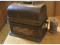 Edison Cylinder Standard Phonograph, Model A with 'New Style' case