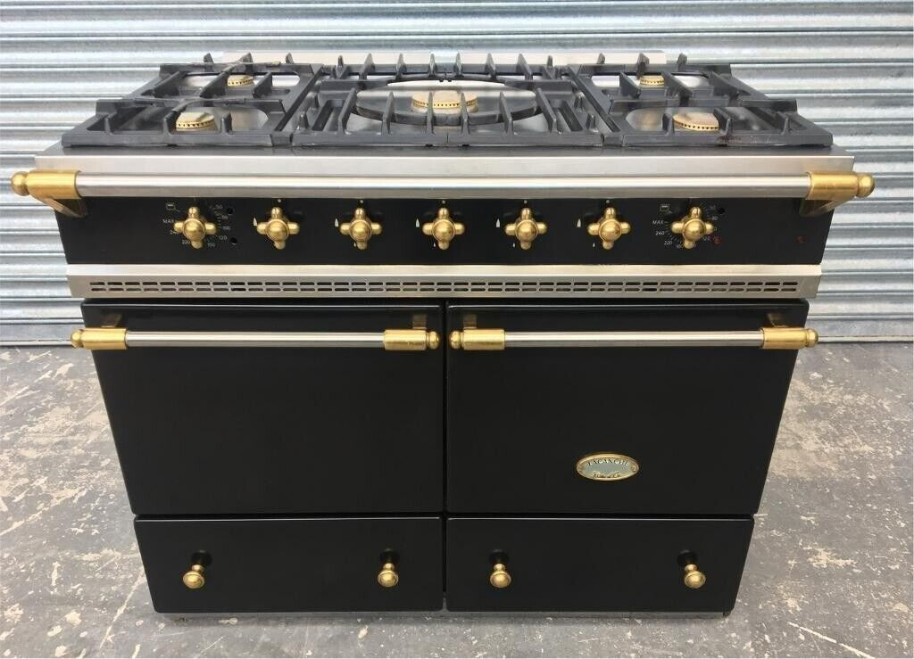 Lacanche Cluny Classic 100 Dual Fuel Black With Gold Knobs Handles In Dungannon County Tyrone Gumtree