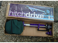 HITCHDRIVE Caravan or Trailer MOVER Hitch Drive Replacement Jockey Wheel Boxed VGC