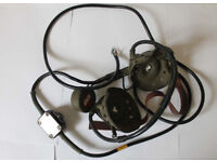 WW2 MILITARY HEADSET & MIC 5965.99.100.1943 RARE ISSUED MILITARY HEADSET
