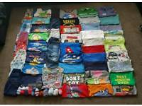 HUGE boys clothes bundle, age 2-3, 61 items