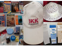COMPLETE TRAVEL SET, HATS (CAP UNISEX) BOOKS ACCESSORIES & SKINNY TAN