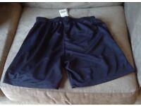 Navy Sports/Football Shorts size 30/32
