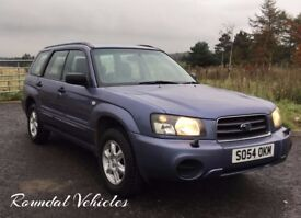 Subaru Forester 2.0 XLN LOW MILES 60000 miles 12 stamp service history mot till July 2018 met Purple