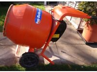 240v Electric Belle Cement Mixer