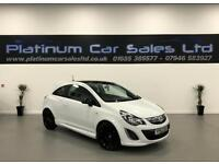 VAUXHALL CORSA LIMITED EDITION (white) 2013
