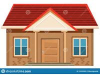 Large 2 bed or 3 bed house WANTED