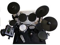 Roland TD-8 electronic drum set with upgrades, PC/Mac connection. Can Bring to North London