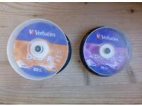 Verbatim DVD-R x16 speed (46no.) & DVD+R DL x8 speed (7no.)