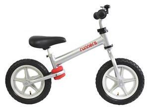 Brand NEW! Aluminium Runners Balance Bike Incl. Helmet
