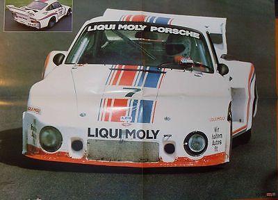 PORSCHE 935 Liqui Moly (1978) - POSTER