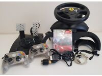 Xbox Thrustmaster Ferrari 360 Modena Special Edition Steering Wheel XBOX Original Compatible