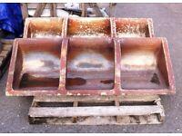 Reclaimed Salt Glazed Stone Feeder Trough