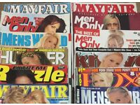 Men's magazines wanted - cash paid