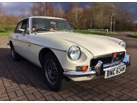 1974 MGB GT V8, Factory Chrome Bumper V8, Lots Of History, MOTd January 2018