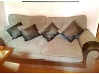 Arm chairs and sofa