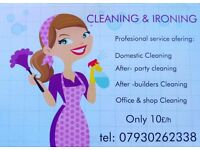 Domestic Cleaning Service & Ironing ( Shop / Office Cleaning Service )