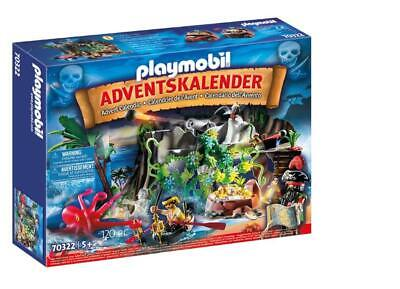 PLAYMOBIL® 70322 Advent calendar treasure hunt in the pirate bay - FREE SHIPPING