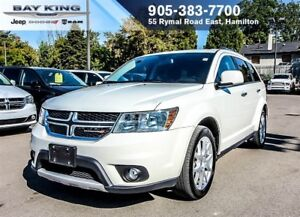 2017 Dodge Journey R/T, AWD, 7 PASSENGER, BLUETOOTH, HTD SEATS,