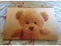 Next Teddy Bear Canvas