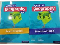 AQA GCSE Geography 9-1 Revision Guide and Exam Practice books