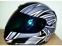 Ladies BOX Grey/Black/Pink Helmet