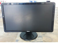 "Dell 23"" LCD/TFT widescreen black monitor and stand with keyboard and mouse"
