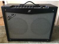 Fender Mustang IV 150W 2x12 Combo Guitar Amp & Fender Hardshell Footswitch