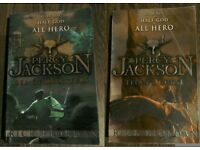 Percy Jackson and the Sea of Monsters & Percy Jackson and the Titan's Curse - Books