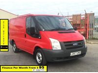 Ford Transit 2.2 260 SWB , 1 Owner From New, Full Service History -10 Stamps ,1YR MOT, Warranty, 85k