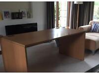 Office Desk and 2 Drawer Pedestal
