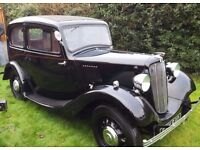 1937 morris 8, stunning example, previous show winner.