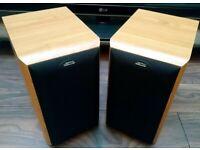 Jamo Cornet 145 Bookshelf SPEAKERS - in blonde/beech, 2-way bass reflex