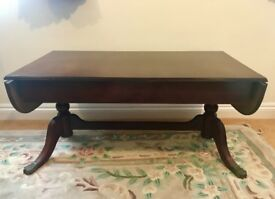 Solid Mahogany Coffee Table Immaculate Condition