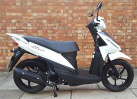 Suzuki Address 110, Brand new scooter with Suzuki warranty