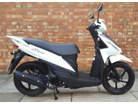 Suzuki Address 110, Brand new scooter with Suzuki warranty
