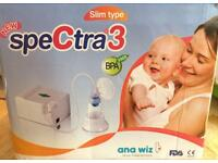Spectra3 electric breast pump in original box